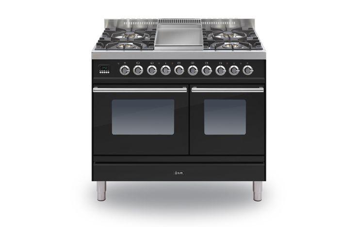 ILVE Roma 100 Twin Fry Top Range Cookers | Rangecookers.co.uk