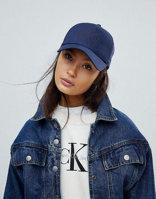 883ff17fe4b Calvin Klein Reissue Logo Cap