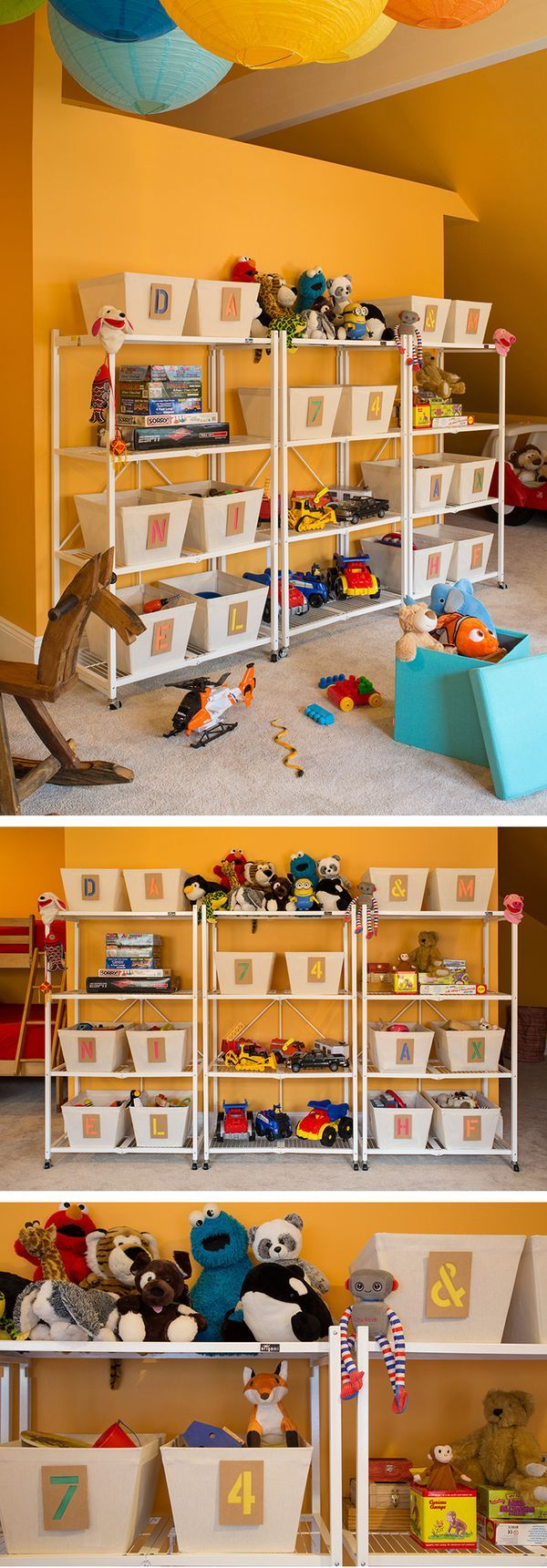 Playing It Cool  Creative Toy Storage And Fun Zones For Two California  Kiddos