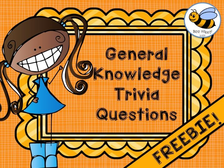 Freebie time. 2 rounds of  trivia questions to challenge and improve general knowledge for children in grades 1-3.