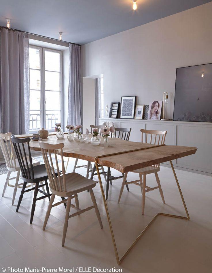 25+ best ideas about Table En Bois Brut on Pinterest  Meuble en bois brut, T