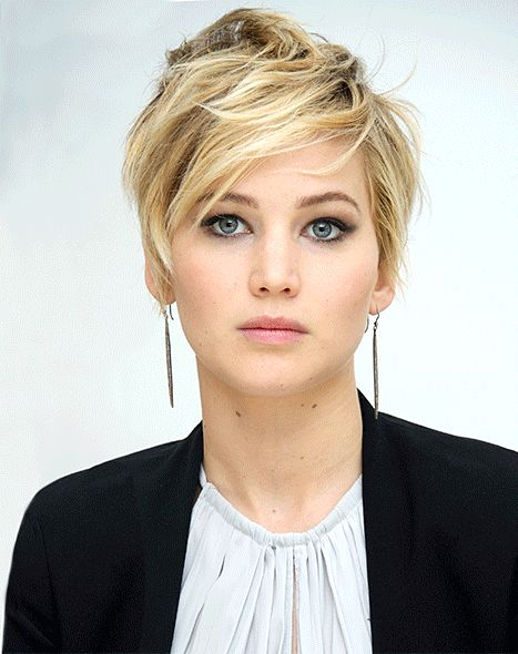 Jennifer Lawrence's Grown-Out Pixie Haircut Styling: Photos - Us Weekly