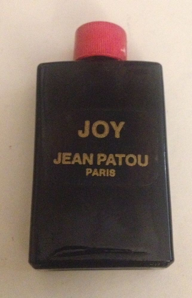 Vintage Joy Jean Patou Paris Miniature Black & Red Empty Bottle  | eBay