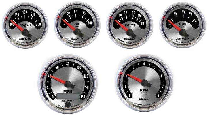 Autometer American Muscle Gauges