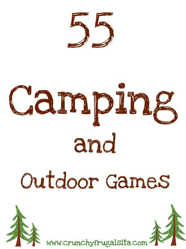 This time of year still a fun time to go camping. Great indoor and outdoor camping Games for Kids. With this list of games your kids can NEVER say they are bored again while you are camping http://www.crunchyfrugalista.com/camping-games-for-kids/