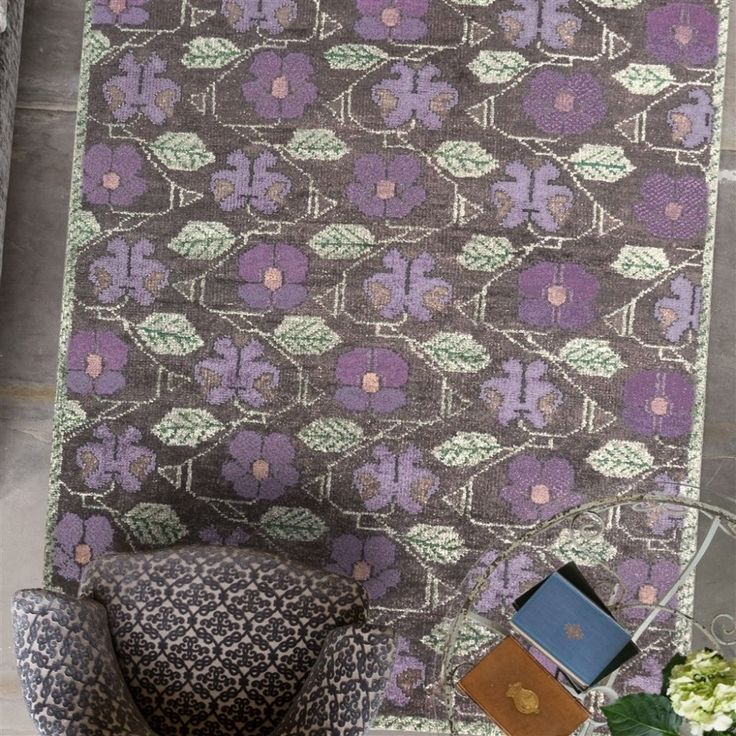 Tapis Royal Collection Tapestry Flower