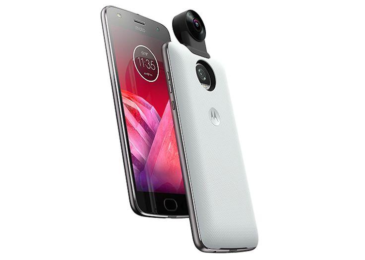 Moto-Z2-Force-con-mdulo-360 Tenemos un nuevo integrante: Motorola Moto Z2 Force Edition