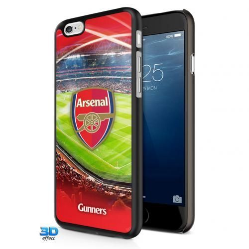 3D Arsenal iPhone 7 case featuring the club crest against a picture of the stadium. Offers first-rate protection if dropped. FREE DELIVERY on all of our gifts