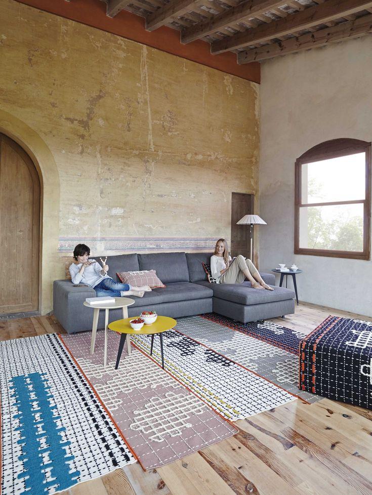 Handmade rug BANDAS Bandas Collection by GAN By Gandia Blasco | design Patricia  Urquiola