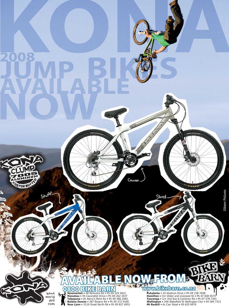 Kona Bicycles advert - Jump bikes #skmatic Skmatic Graphic Communication
