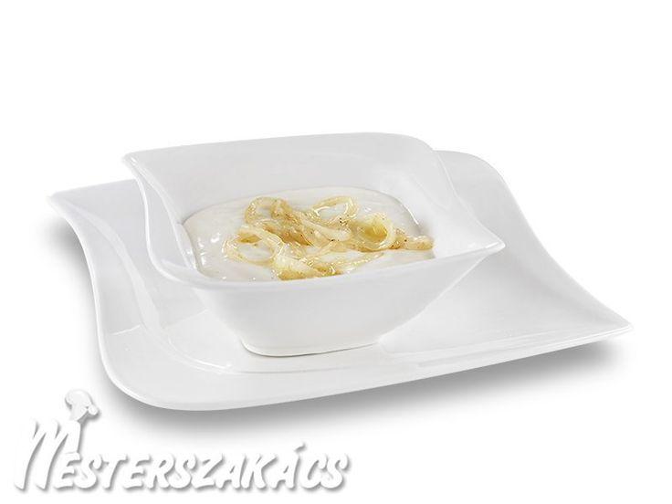 Hagymamártás (soubise-mártás) recept