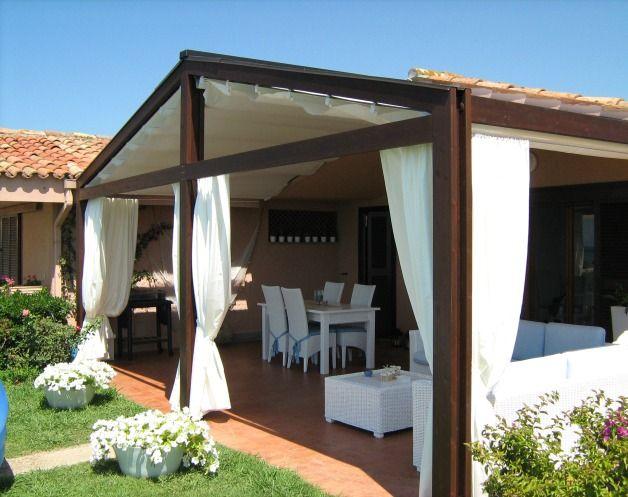 Trendy matera tende e arredi pergotenda twin roma with arredamento veranda - Tende foto casa ...