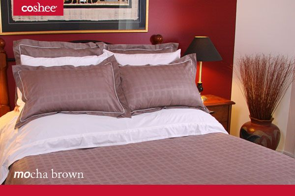 Mocha Brown is always a favourite as it blends with so many décors and can adapt to many other colour palettes