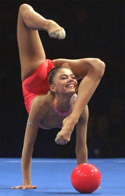 Pinterest • The world's catalog of ideas Alina Kabaeva Gymnastics