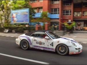 You Don't Usually See A Porsche Like This In India