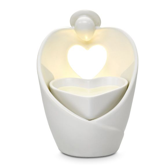 ScentGlow - Elektrische Duftlampe Engelsherz / Diffuseur électrique ScentGlow Coeur d'ange