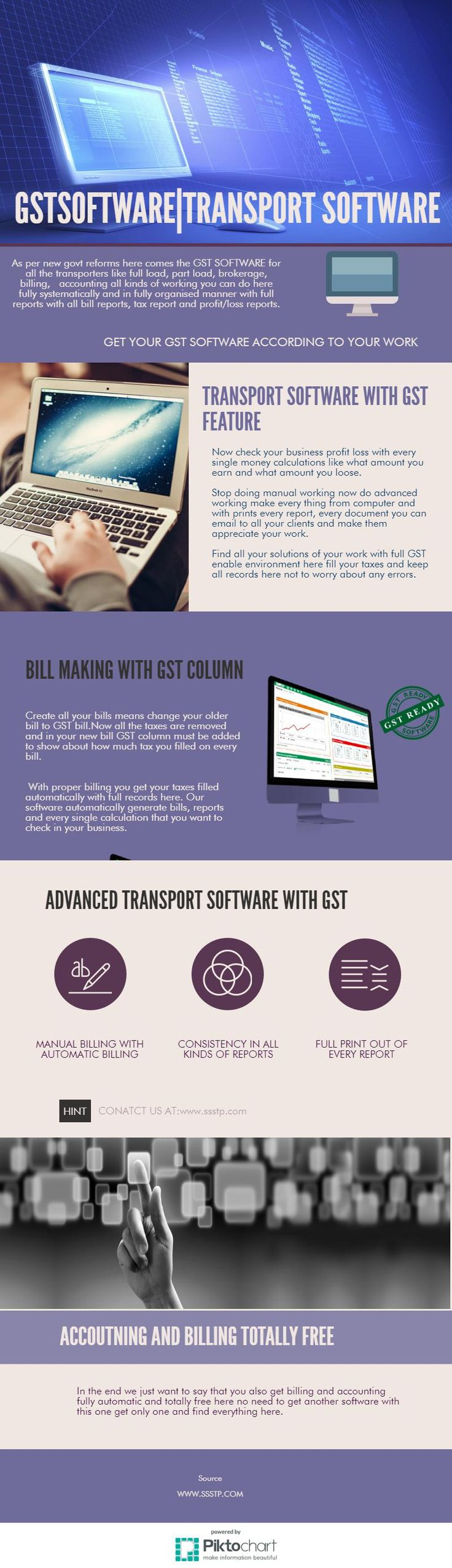 Now if you want your GST tax fulfilled on right time with all kinds of necessary calculations and with full reporting as what amount your tax given on time to time. Here is GST TAX SOFTWARE for transporters or you can say is transport software delhi in delhi area near by you.
