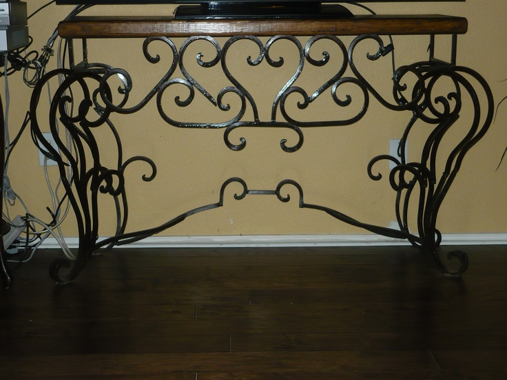 Traditional Home Decor See More Iron Console Table With Scrolls Old World Spanish Rustic Hacienda Tuscan