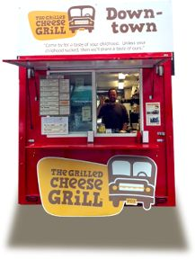 Grilled Cheese Grill - Still haven't made it there yet on my portland excursions. This time it's happening. Foster will love to eat on a bus!