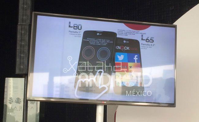 LG México Celulares presenta el L65 y L80, los nuevos integrantes de la L Series III que llegarán a México.