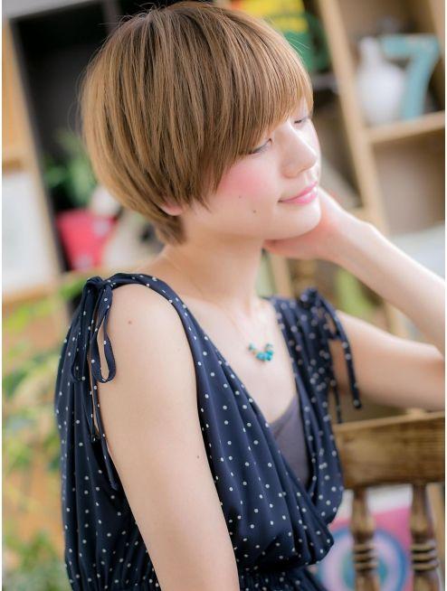 カバーヘア ブリス 戸田公園西口店(COVER HAIR bliss) *+COVER HAIR+*…ハイトーンの★目力UP!ショートe