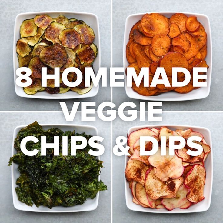8 Homemade Veggie Chips Dips Veggie Chips Recipes Vegetarian Recipes