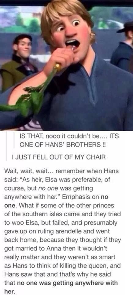 Frozen - MIND. BLOWN.