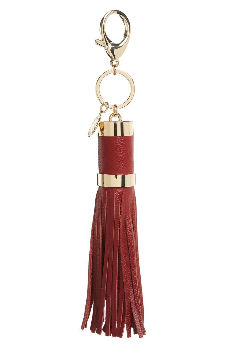 Rebecca Minkoff Power Tassel Bag Charm available at #Nordstrom in BLACK