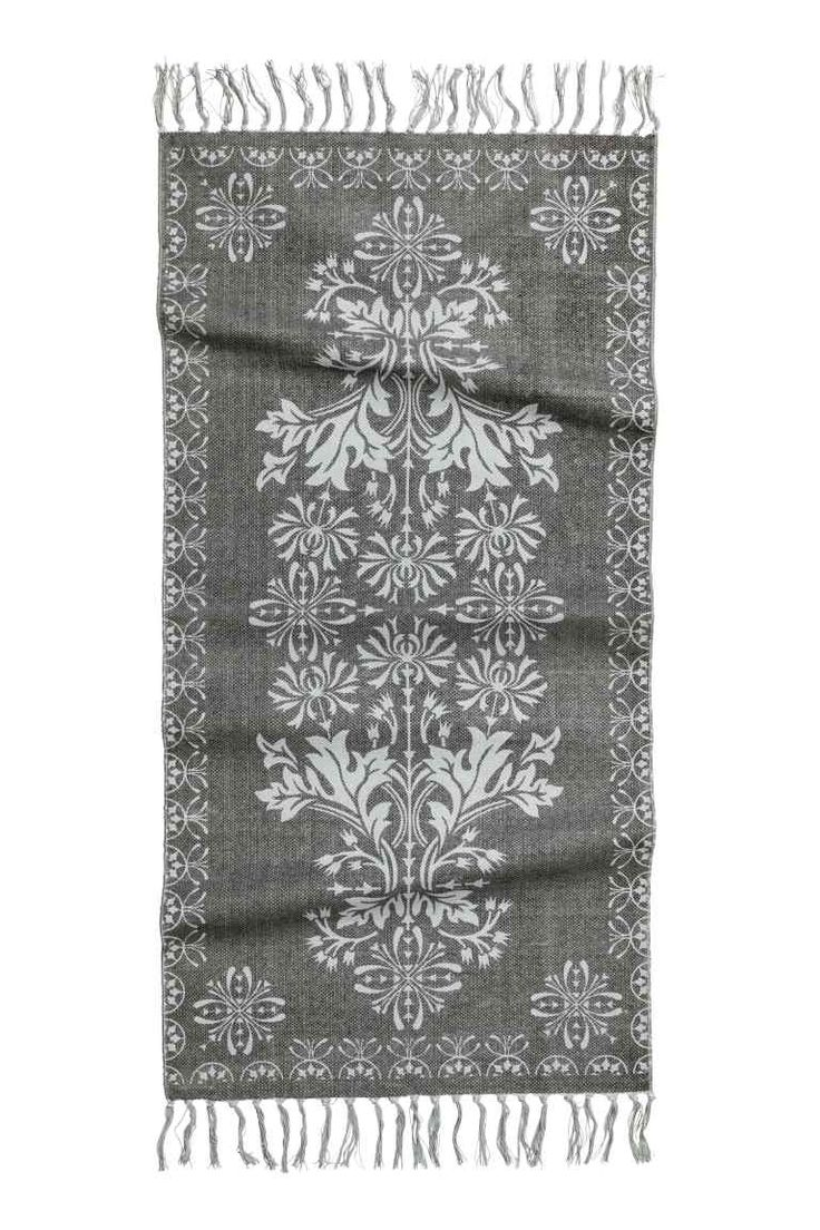 Alfombra estampada de algodón | H&M