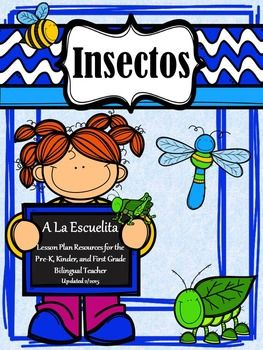 InsectosInsectos+is+an+ideal+theme+for+the+month+of+March.+The+activities+included+are+hands-on,+fun,+and+engaging.+Many+of+these+activities+can+be+put+into+a+center+after+they've+been+introduced+and+modeled+by+the+teacher.+I+have+included+some+printables+that+can+be+helpful+for+some+lessons,+during+testing+or+if+you+have+a+substitute+teacher.