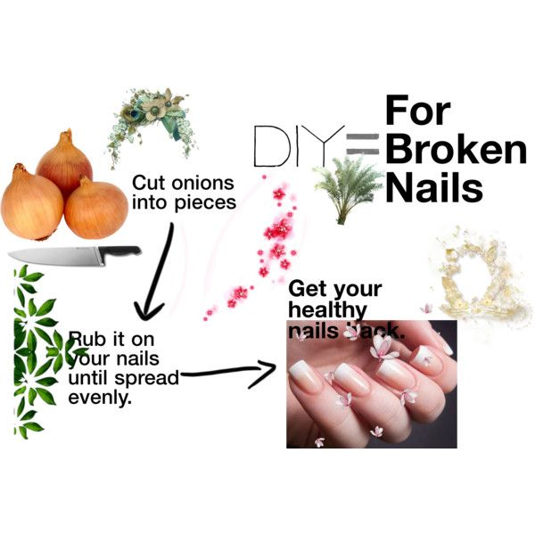 My Favorite Beauty DIY For Broken Nails by devyparamitha on Polyvore