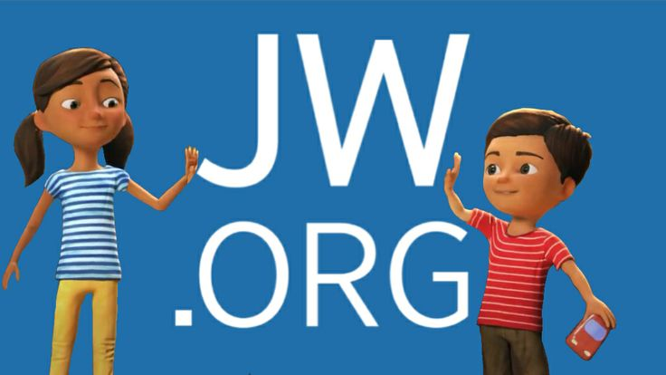 High Five!  Modified Caleb and Sophia picture with the jw.org logo.  Printing this, and putting it on magnet sheet.