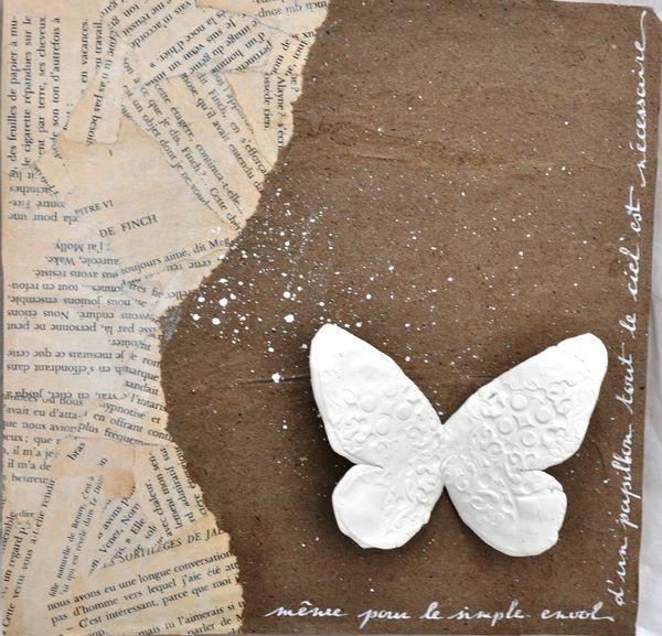 Même pour le simple envol d'un papillon by Coeur cannelle