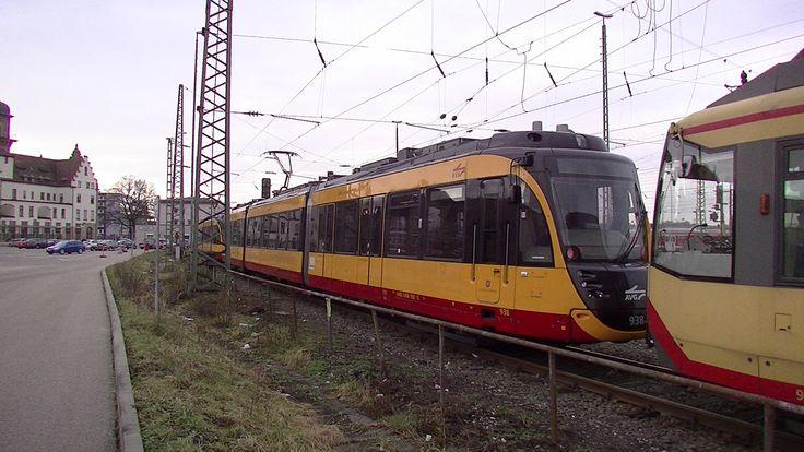 ET 2010/2F - Flexity Swift Landkreis Heilbronn - Nr. 938 der AVG von hinten im Detail am 25.01.2015 im Hauptbahnhof.