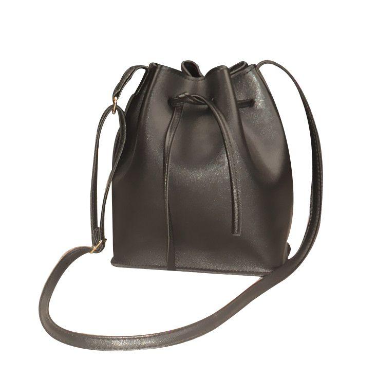 Купить товарLouis известный бренд сумки 2016 новый модные сумки плеча диагональ ведро мешок Шнурок сумки PU материал доставка в категории Сумки на плечона AliExpress.  размер: 18*21*12 см