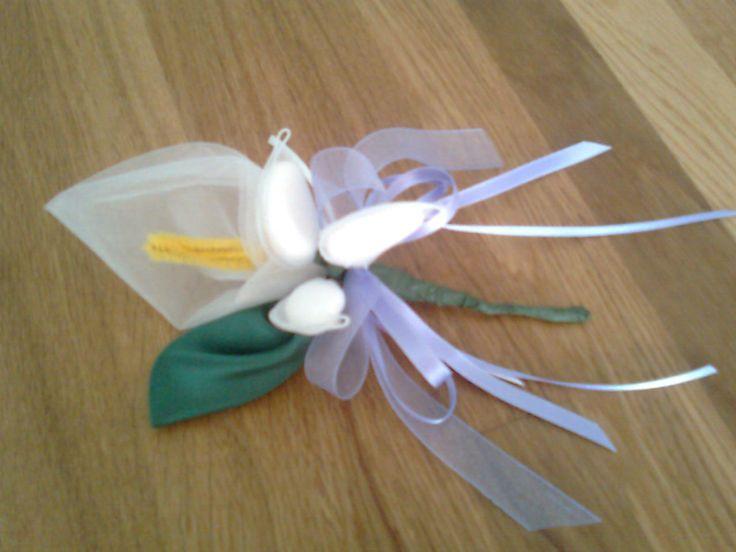 Queste sono le bomboniere che ho realizzato per la Prima Comunione di Giorgia la figlia della Fede…una mia cara amica…ci conosciamo dall'asi...