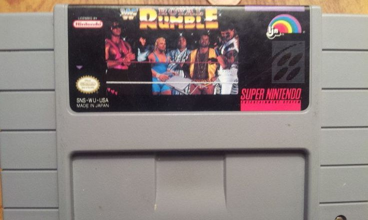 Interesting one by lunatikfringe87 #supernintendo #microhobbit (o) http://ift.tt/1pPeLqB Royal Rumble was released on SNES on June 8 1993.  #wwfroyalrumble #wwf #wwe #royalrumble #snes  #snes #nintendo #wrestling #retrovideogames #oldschoolvideogames #90sgames #90s