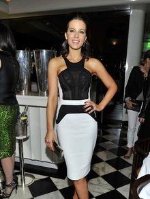 Образ дня: Кейт Бекинсейл в Marchesa | Мода на Elle.ru