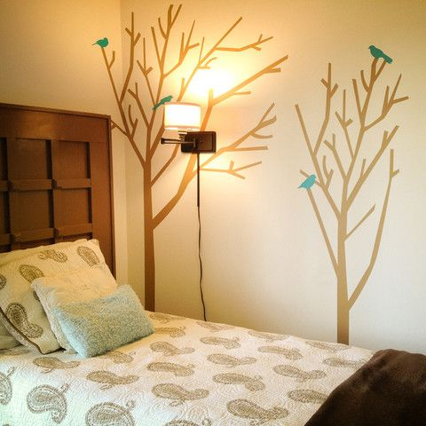 168 best Tree Wall Decals images on Pinterest   Tree wall decals ...