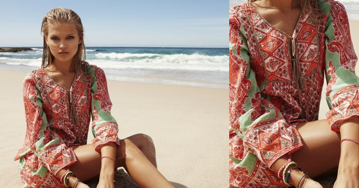 The Hippy Smith dress by Lola Australia is available now at www.frondstore.com.au