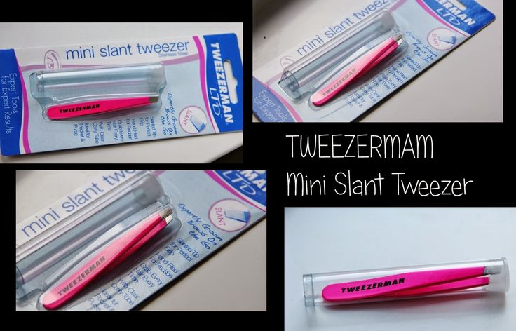 MichelaIsMyName: Tweezerman Mini Slant Tweezer