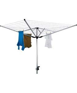 Living 60m 4-Arm Outdoor Rotary Airer.
