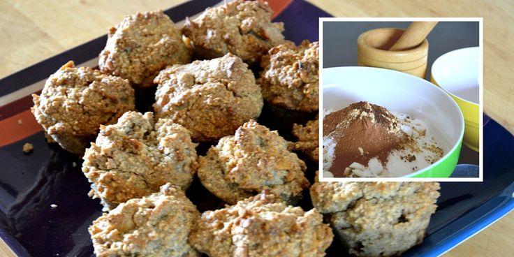 Jumbo Gingerbread Nut Muffin Recipe