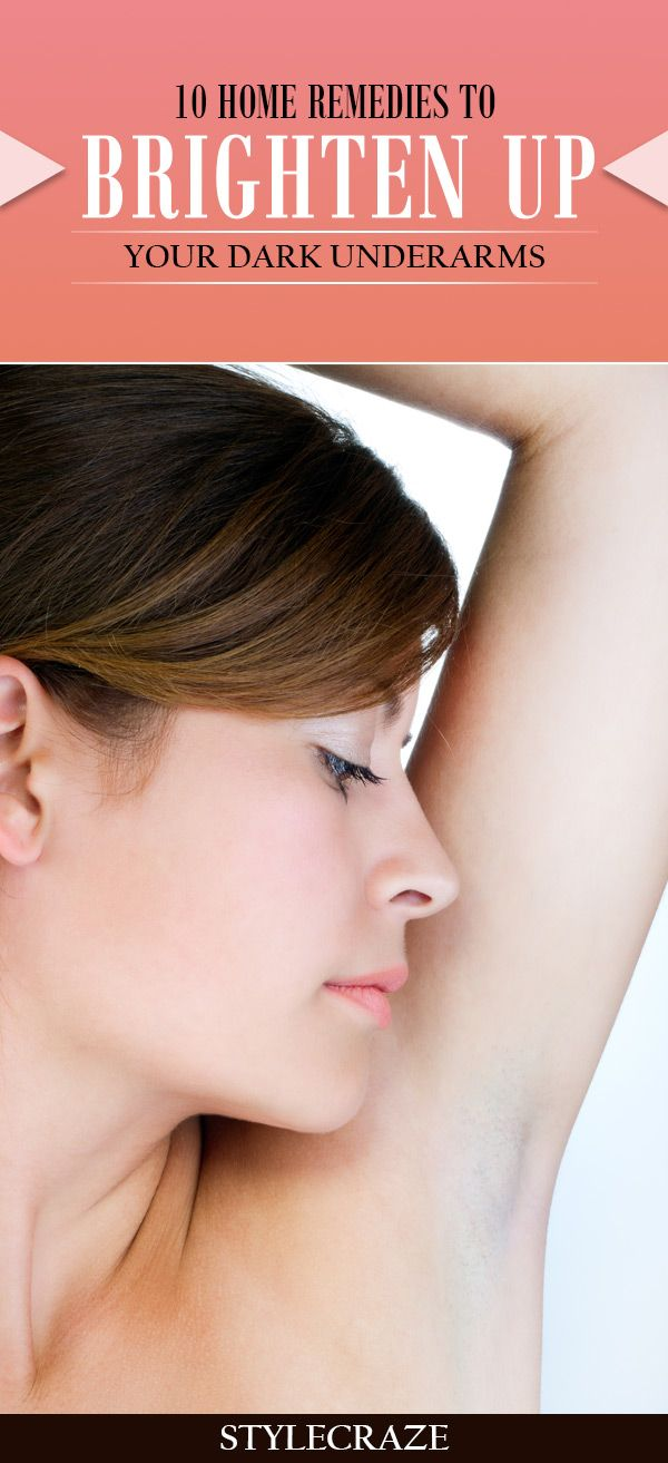 Top 10 Home Remedies To Brighten Up Your Dark Underarms