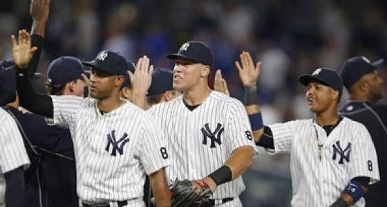 I Baby Bombers continuano a stupire Green e Judge regolano i Blue Jays Chad #Green ed Aaron #Judge prendono le redini degli #Yankees e guidano i Baby Bombers al successo. Silenziato l'attacco dei #BlueJays. Il racconto del match è su MLB Italia