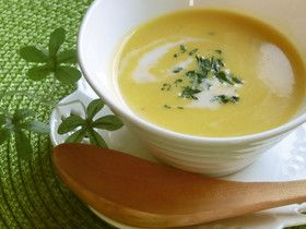 簡単☆我が家のひんやりかぼちゃのスープ