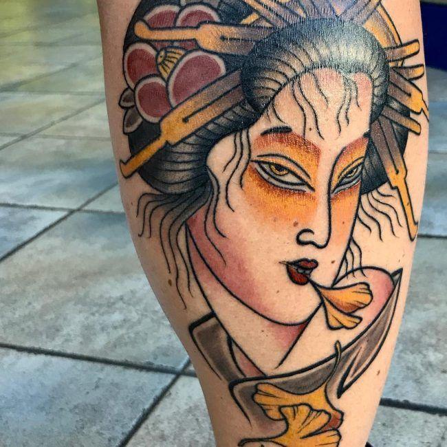 Geisha Tattoo 56