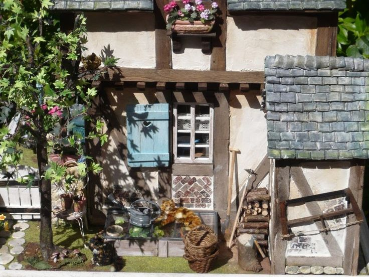 The 380 best Dollhouse garden and outdoor - Other artisans images on ...