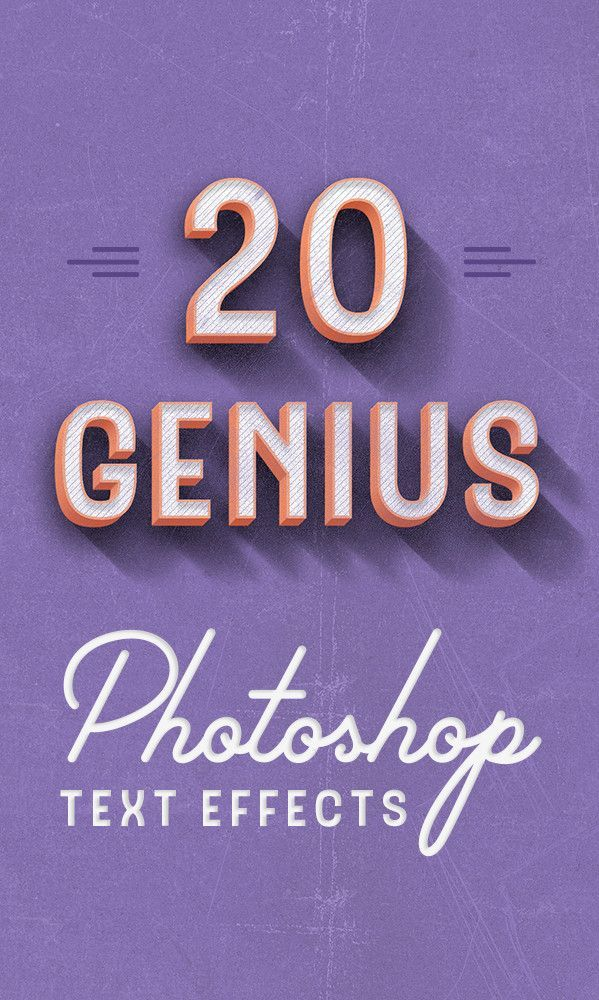 If you're a graphic designer, Photoshop is pretty much the most helpful resource out there to help you manipulate images and text for your designs. The following Photoshop type actions will help you make your designs better than you ever imagined.