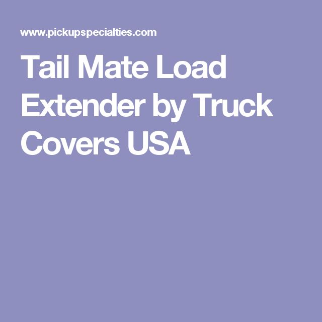 Tail Mate Load Extender by Truck Covers USA